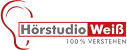 Logo Hörstudio Weiß